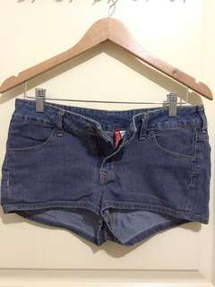H&M Denim Short Shorts