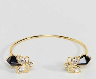 New Ted Baker Geometric Bee Cuff Bracelet