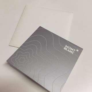 萬寶龍 MONT BLANC 萬用小卡 全新