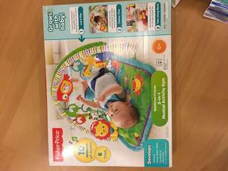 Fisher price 3in1 musical activity gym