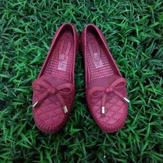 Sepatu Karet Anak Pita Pantofel