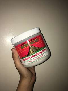 100% AUTHENTIC AZTEC HEALING CLAY MASK REPACKAGING