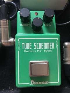 🚚 經典TS808真空管破音效果器