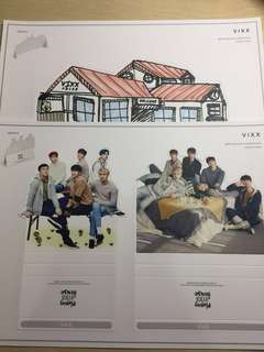 VIXX Official 2017 Season's Greetings Standees