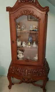 Display Antique cabinet Teak wood