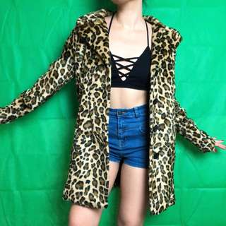 Rare Breed Leopard Fur Coat