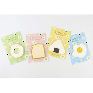 Creative BREAKFAST sticky note/post-it pad/adhesive memo