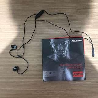 Headset Alfalink Wireless