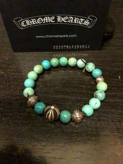 Chrome hearts 8mm綠叢石
