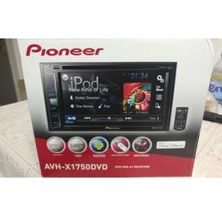 Pioneer 車機 AVH-X1750DVD (Full Set with Box)