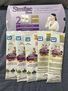 To Bless: Similac Mum & Anmum Milk Sachets