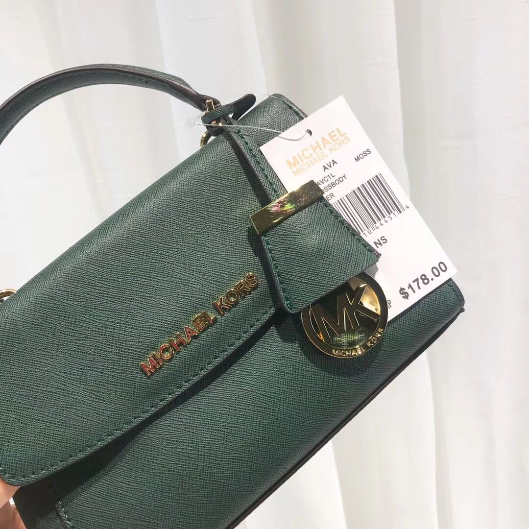 e9046c4da5d3 💯 Authentic Michael Kors MK Ava Mini ( Extra Small ) Saffiano ...