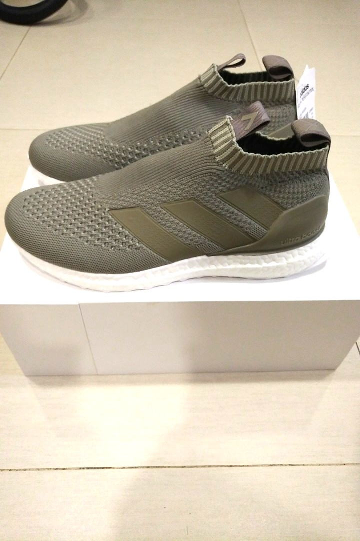 sports shoes 191ed 161e0 Adidas ACE 16+ Purecontrol UltraBoost Sesame, Mens Fashion, Footwear,  Sneakers on Carousell
