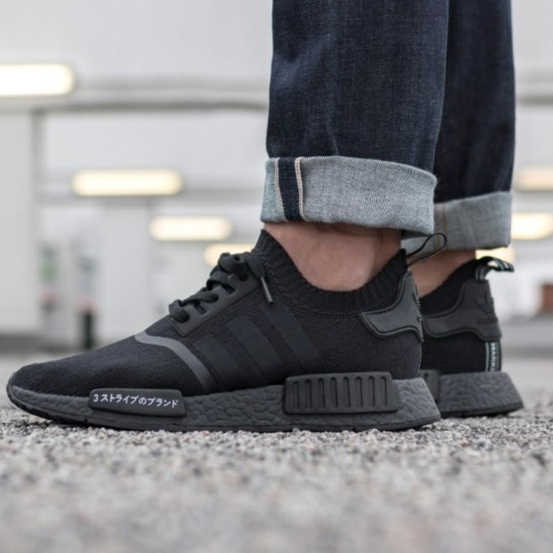 Adidas Nmd R1 All Black Off 56 Www Skolanlar Nu
