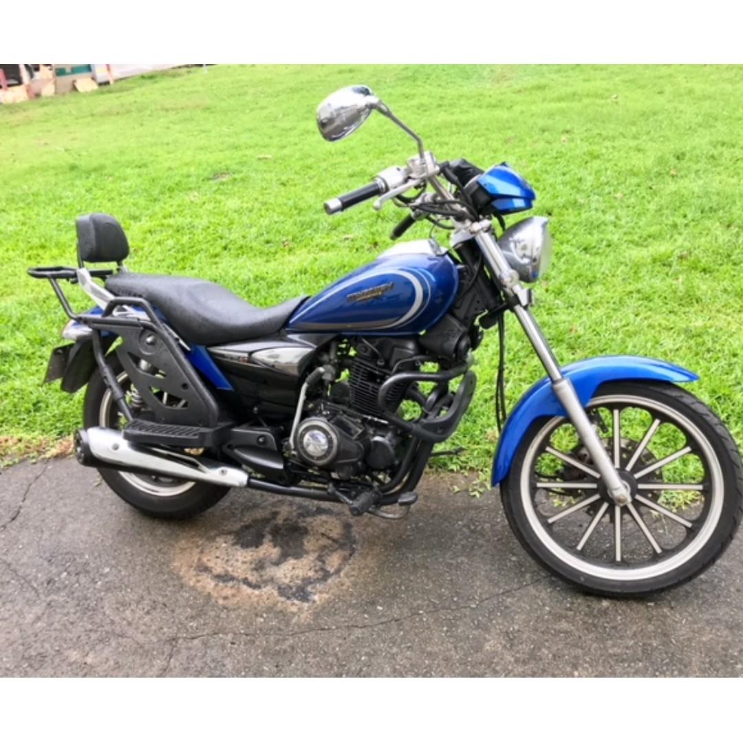 38bed042122 American style design chopper Bike ( ZongShen Pursuit Class 2B Bike ...