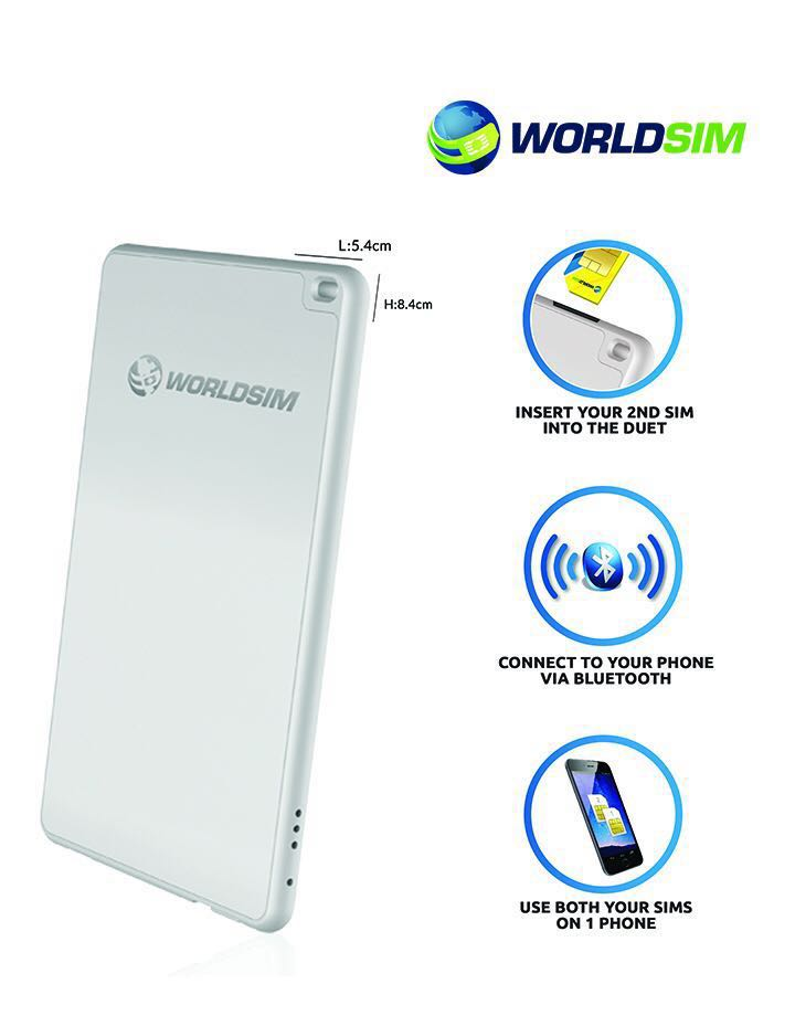 Android and iPhone Dual SIM Adapter