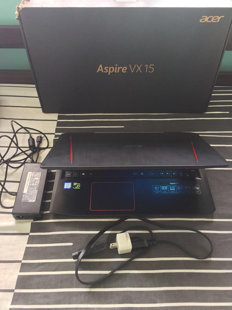 Aspire Vx 15 I7 7700hq Gtx1050ti 4gb Ram Gaming Laptop Electronics Dell Inspiron 7567 I5 7300hq Ddr4 Gtx 1050 Ti Win10 Black Photo