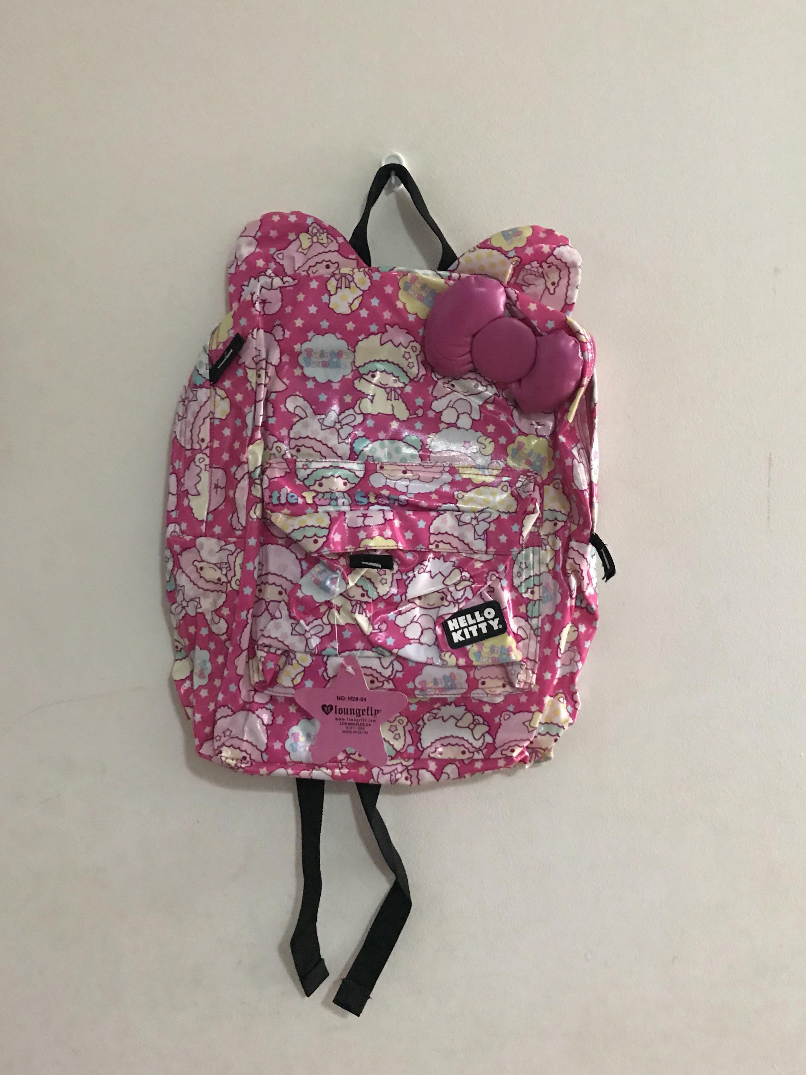 ed907810e BNWT Loungefly Hello Kitty Flash Tattoo Pink Backpack/bagpack ...