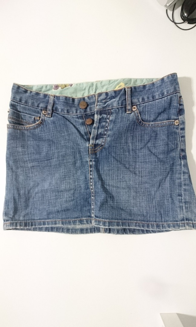 10a7f0ecfd3 Reduced price  Sale   FCUK (French Connection) Denim Skirt! Super ...