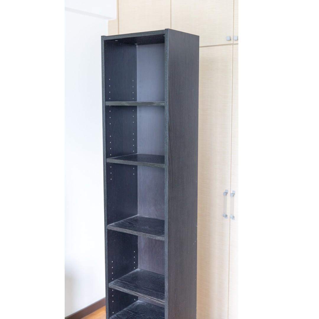 Ikea Billy Bookcase Black Brown Furniture Shelves