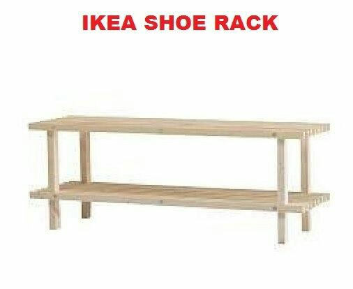Ikea Wooden Shoe Rack Furniture Others On Carousell