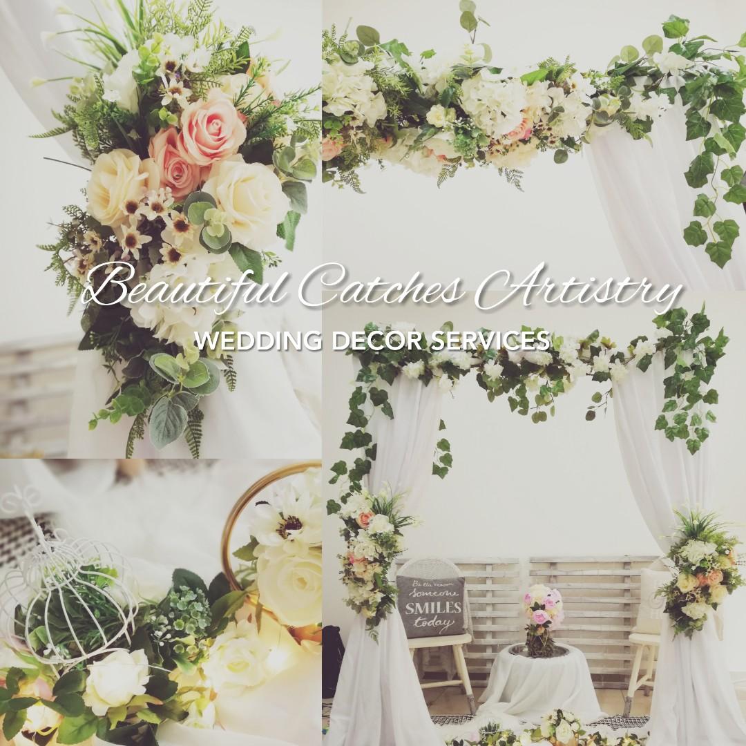 IKEA50 Indoor Outdoor Garden Theme Wedding Arch, Design & Craft ...
