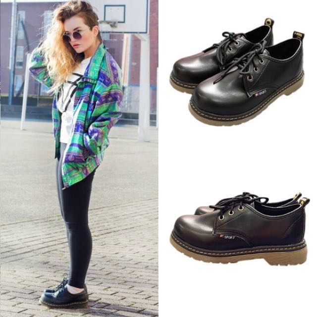 4afc5b4485 Inspired Dr. Martens Low Cut, Women's Fashion on Carousell