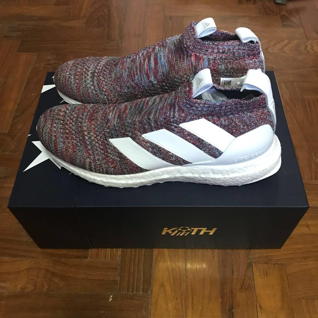 uk availability f4d0d 95a3b Kith x Adidas Ace 16+ Ultraboost