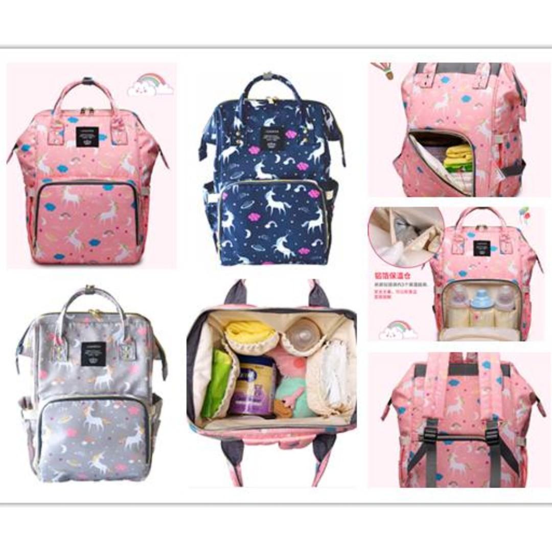4f5314e02c40 Lequeen Unicorn Anello Inspired Nappy Bag