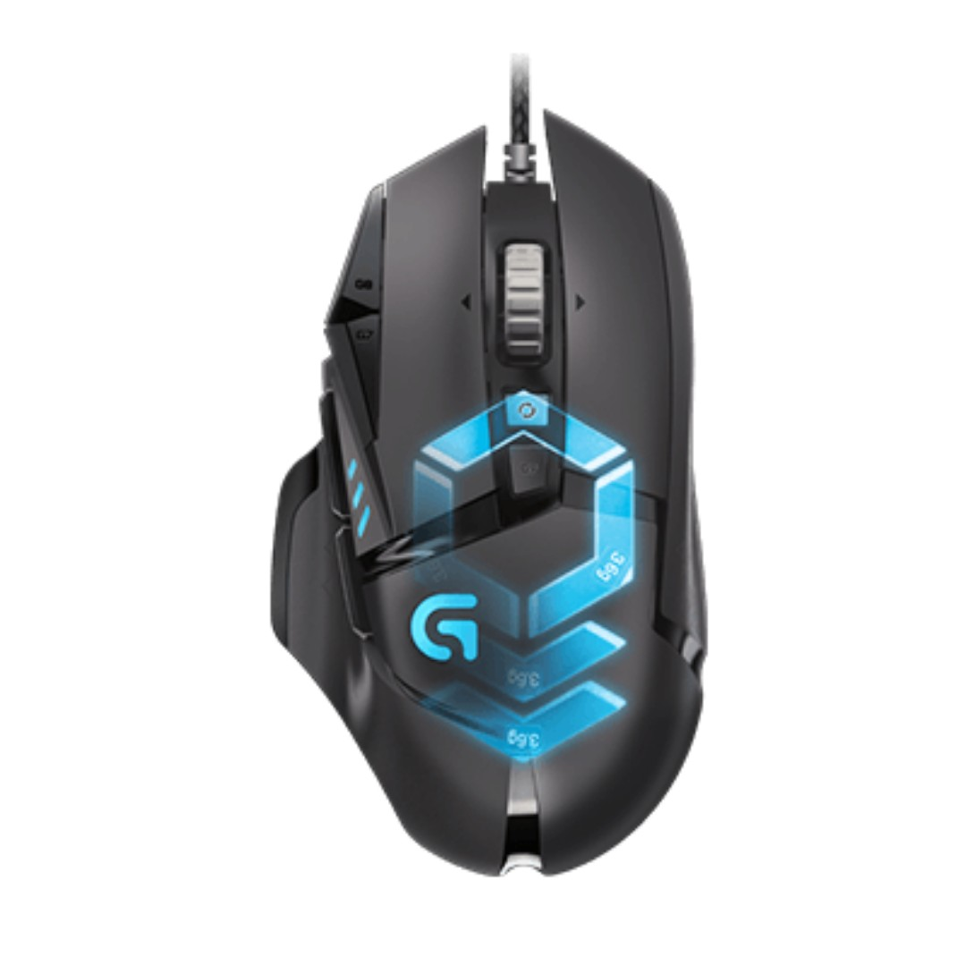 59c37bc59cf Logitech G502 Proteus Spectrum RGB Tunable Gaming Mouse, Electronics ...