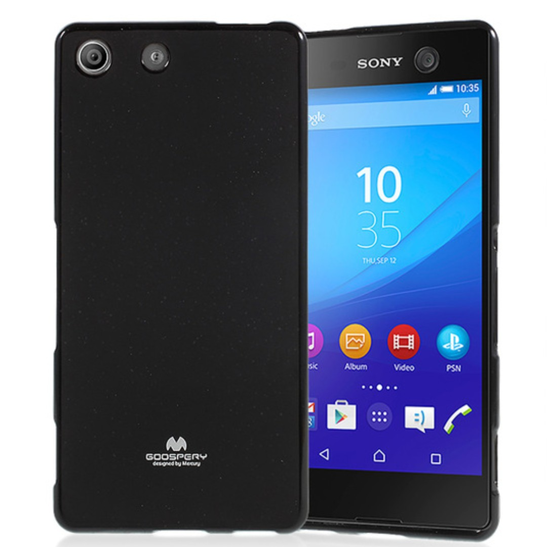 cheap for discount 2fd63 7ff65 Goospery Sony Xperia M5 Jelly Case (Authentic)