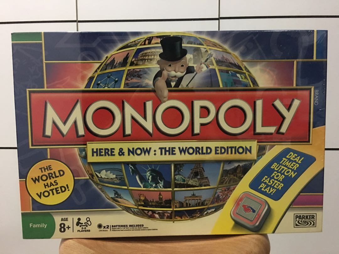 here and now monoply