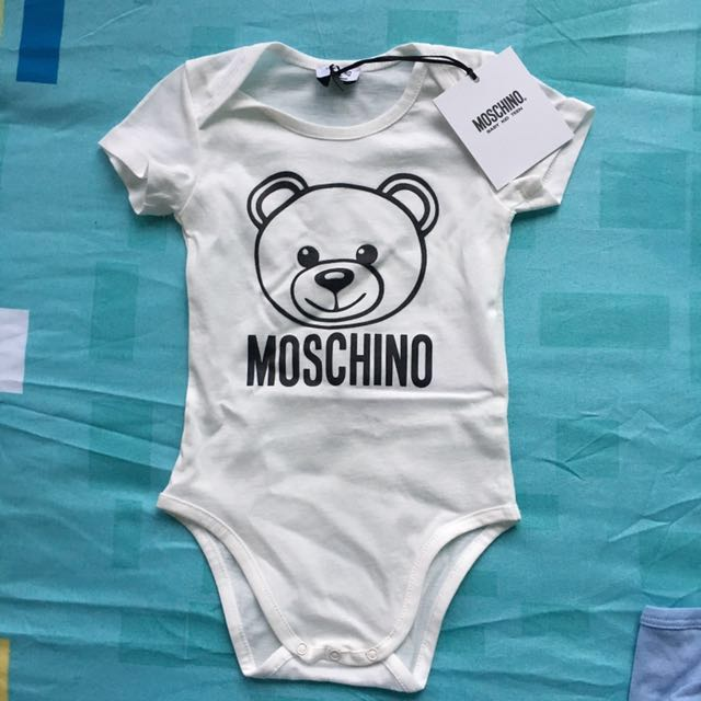 46e7c3ec2108 Moschino Baby - Moschino Bear Onesie 9-12 mths BN with Tags