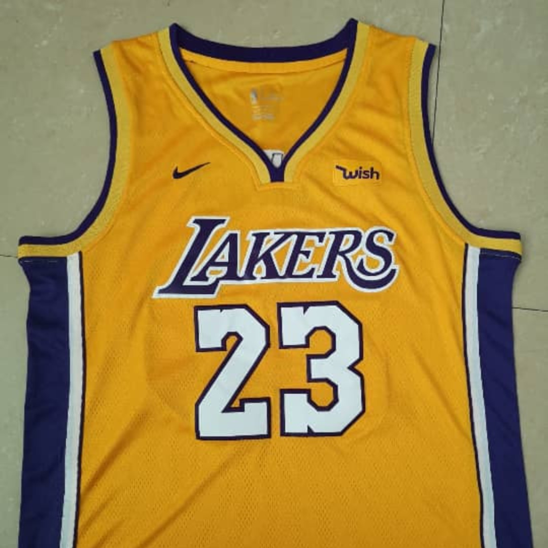 e5aafa89217 NBA Lakers Lebron James jersey (preorder size S-XXL)