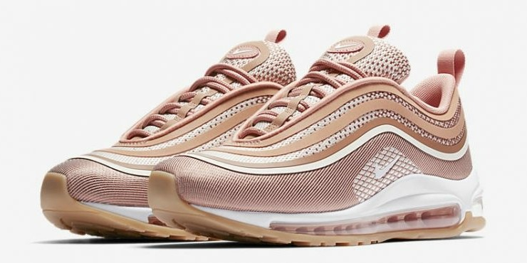 76e338744134 New Authentic Nike Air Max 97 Ultra 17 Shoes (Metallic Rose Gold ...
