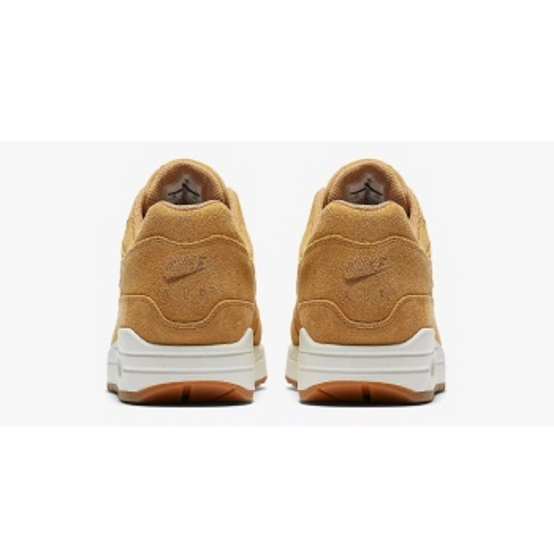 hot sale online 6a537 06d1c Nike Air Max 1 Premium(Flax Gum Medium Brown), Men s Fashion, Footwear,  Sneakers on Carousell