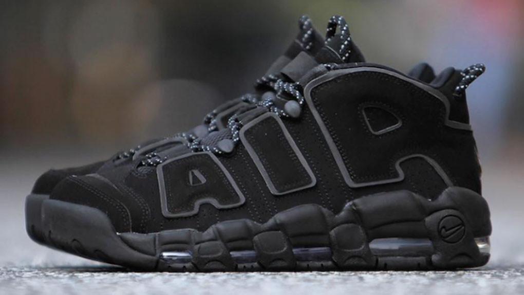 Nike Air More Uptempo Triple Black