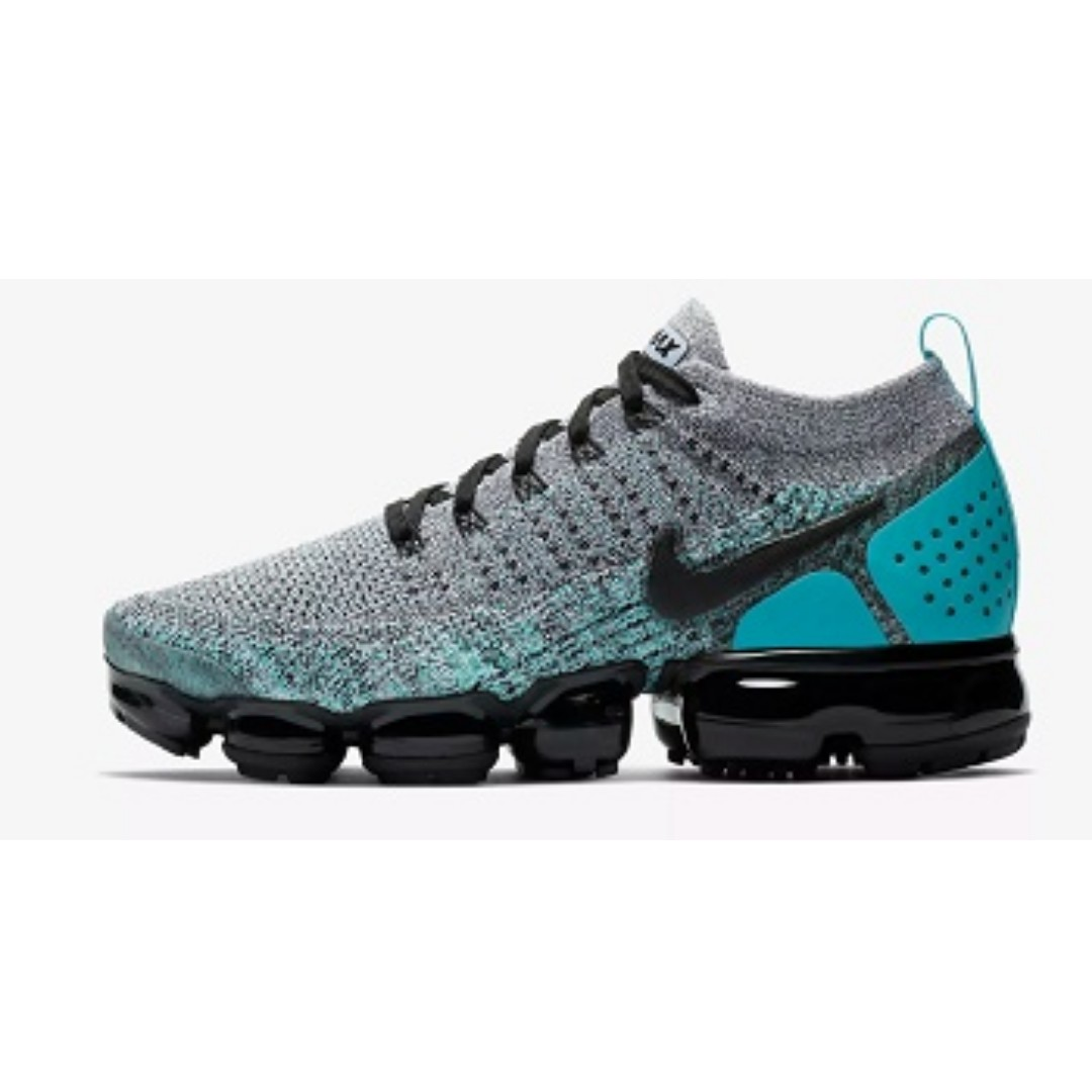 84256042a Nike Air VaporMax Flyknit 2 (Cactus Hyper Jade)
