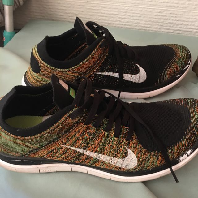 newest 49569 6f227 Nike Flyknit Free 4.0 Multicolor
