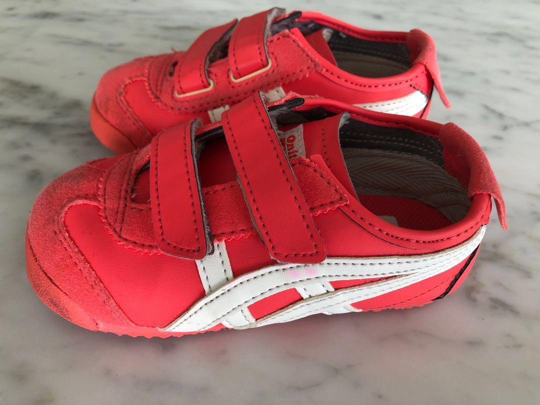 hot sales 4dcaa bf8f5 Onitsuka tiger Mexico 66 kids shoes (hot coral) , Babies ...