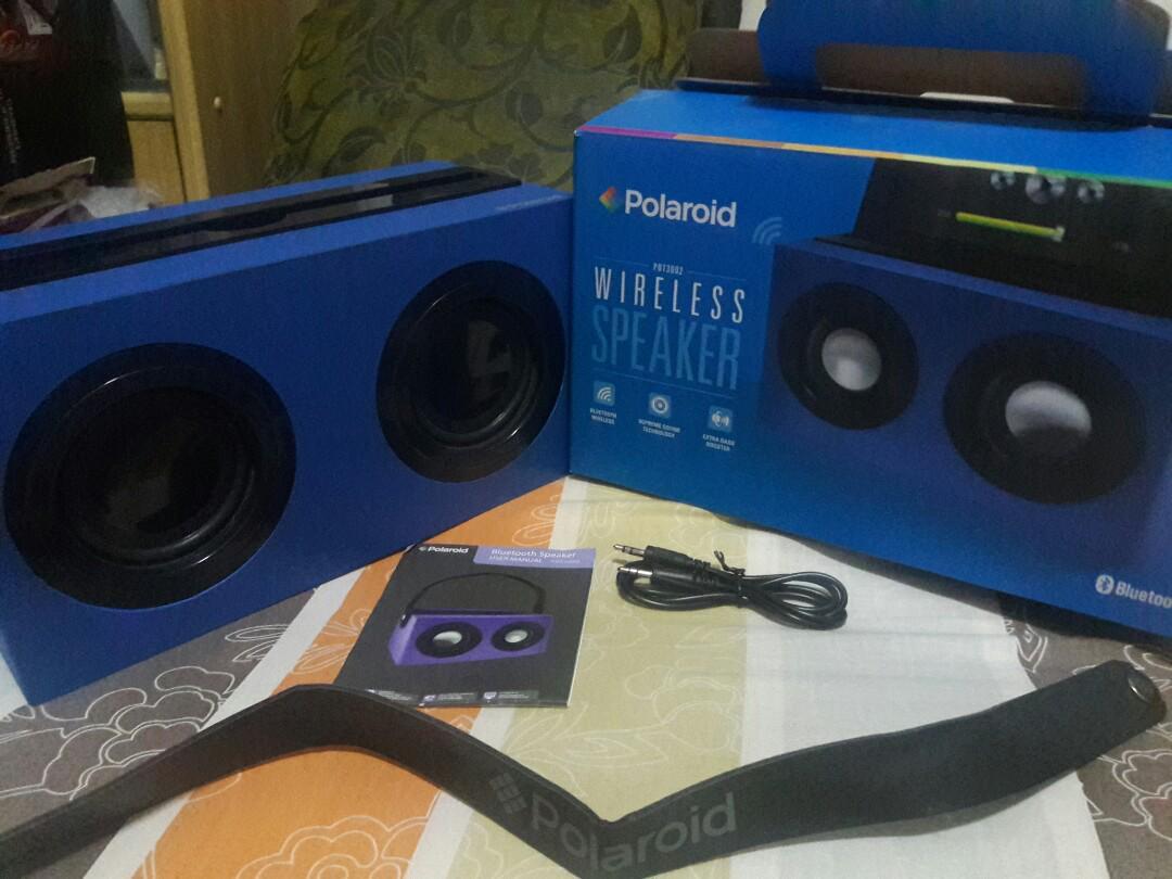 Polaroid Bluetooth Speaker (PBT10), Electronics, Audio on Carousell