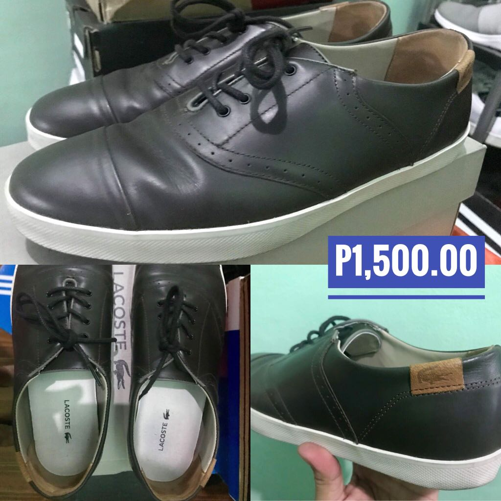 ecb25be7762eb Pre-loved Lacoste Men Shoes
