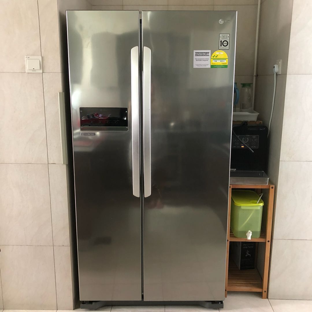 Priced Reduced 3yr Old Side By Side Lg Refrigerator Home