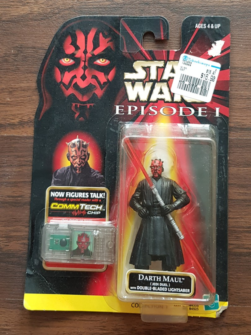 Star Wars Episode 1 Darth Maul (Jedi Duel) with Double