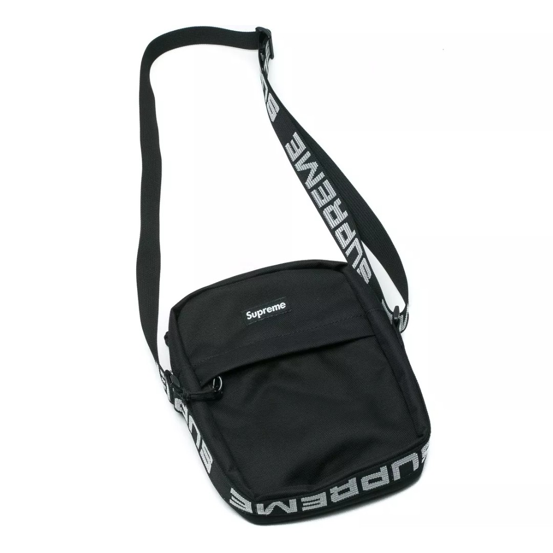 Supreme Shoulder Bag (SS18) Black cb2d245a1b017