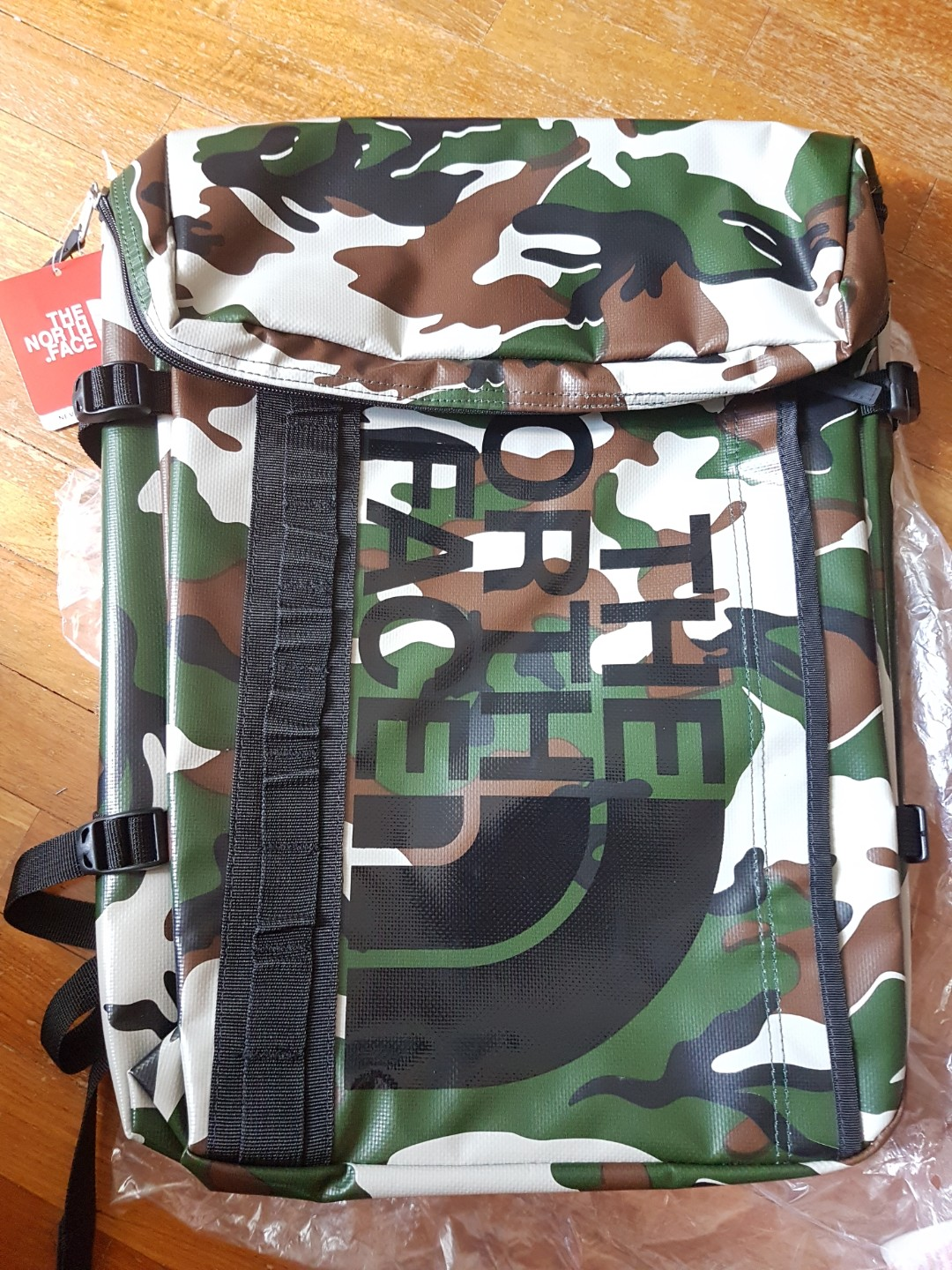 The North Face Bc Fuse Box Camo Mens Fashion Bags Wallets Oakley Backpacks On Carousell