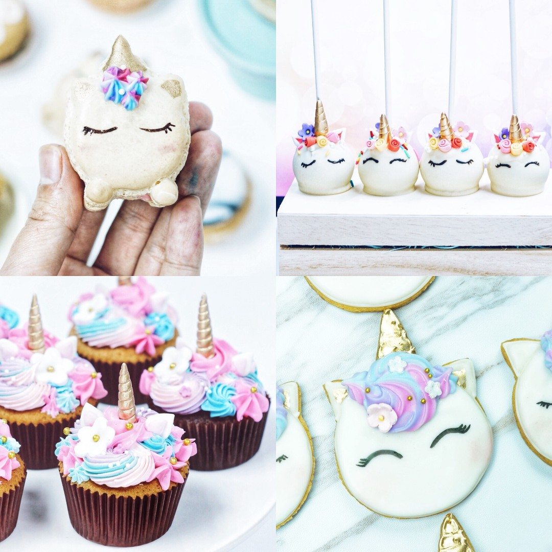 Unicorn Themed Desserts
