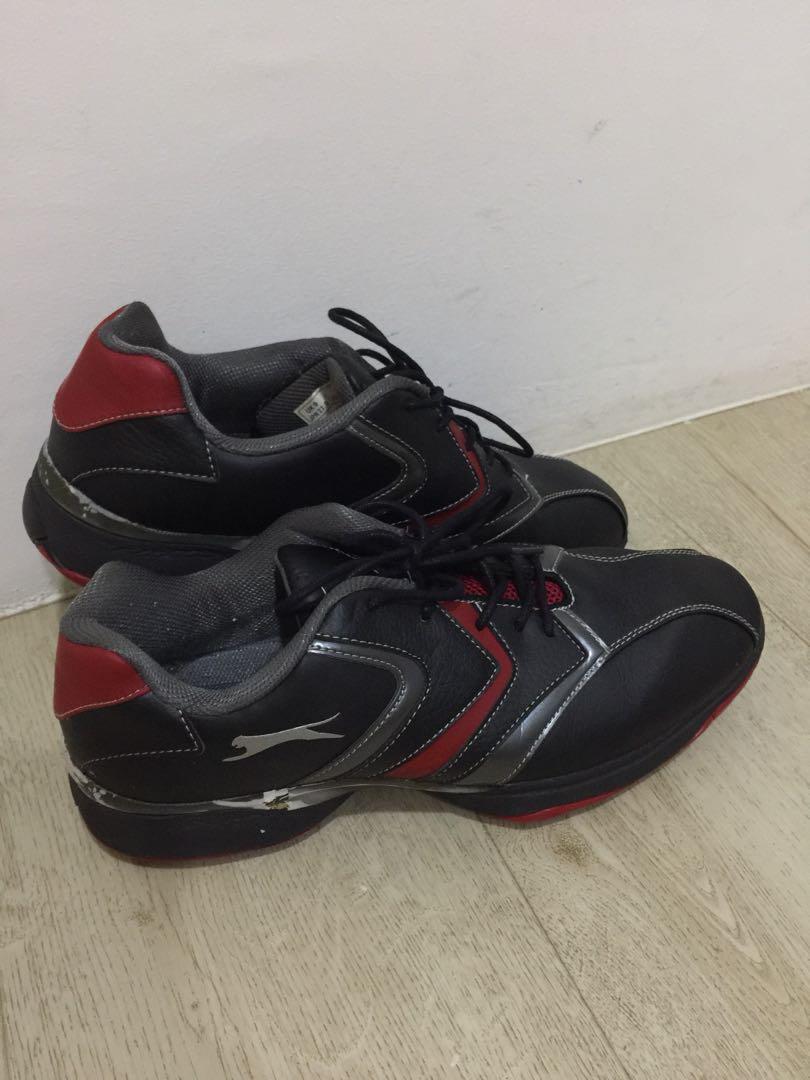 67305112f85 Used Slazenger Men's Golf Shoes size UK9, Sports, Sports Apparel on  Carousell