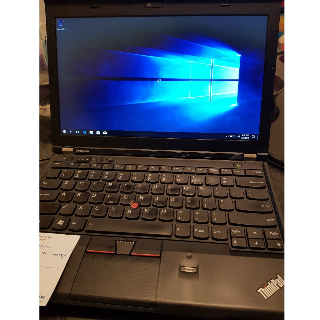 Well kept Thinkpad X230 for sale (Windows 10 factory reset)