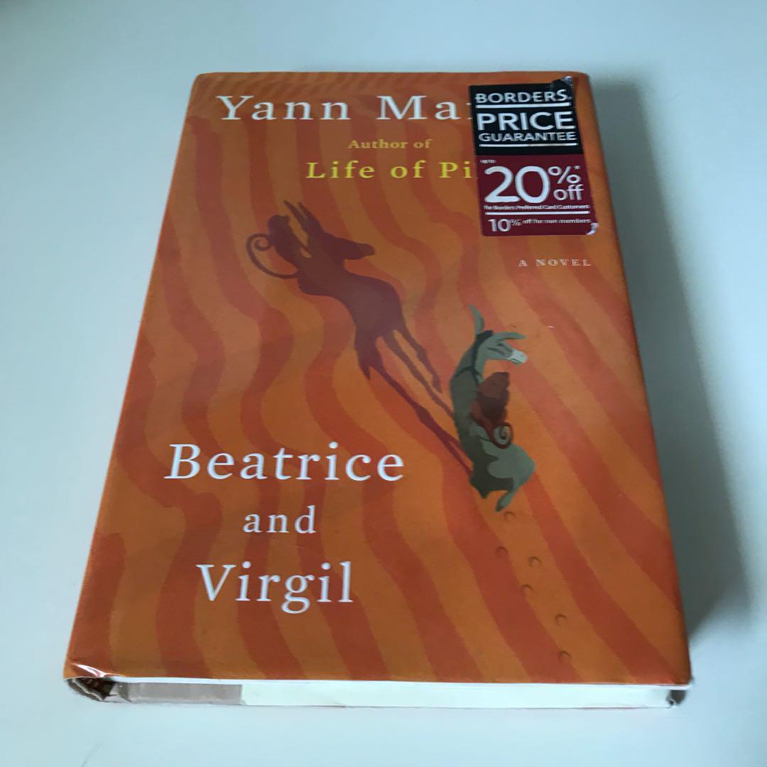 Yann Mattel's Beatrice and Virgil